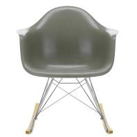 Vitra Eames Fiberglass RAR schommelstoel