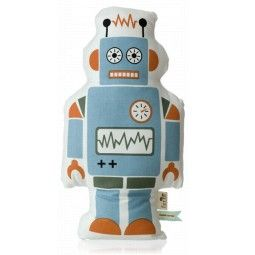 Ferm Living Mr. Large Robot kussen 50x27