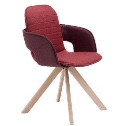 Arco Flux Wood Armchair stoel