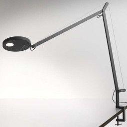 Artemide Demetra bureaulamp met tafelkem LED zwart 2700K - warm wit