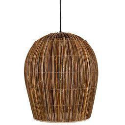 Ay illuminate Rattan bulb hanglamp large