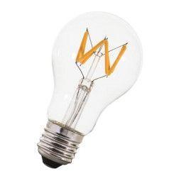 Flinders Filament Wave A60 LED lichtbron E27 6W 2200K helder dimbaar