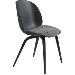 Gubi Beetle Wood stoel met zitkussen