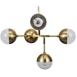 BePureHome Globular hanglamp antique brass