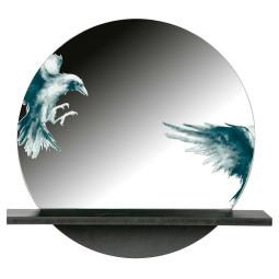 BePureHome Raven spiegel Metaal
