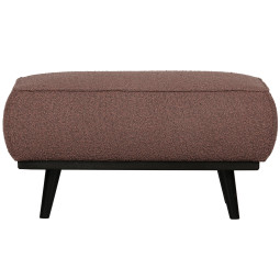BePureHome Statement hocker Boucle