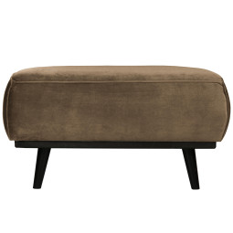 BePureHome Statement hocker fluweel