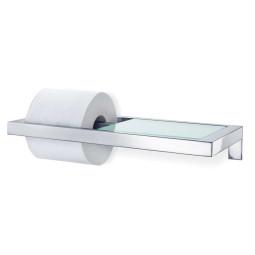 Blomus Menoto toiletrolhouder met glasplaat