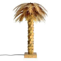 HKliving Brass Palm tafellamp