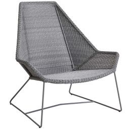 Cane-Line Breeze Highback Lounge fauteuil
