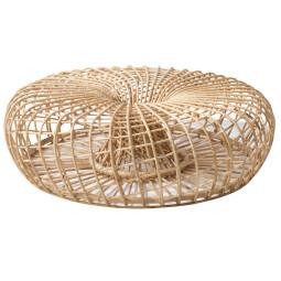 Cane-Line Nest Rattan hocker 130 indoor
