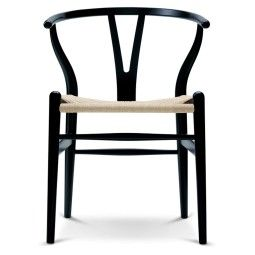 Carl Hansen & Son Tweedekansje - CH24 Wishbone stoel Colours Natural Black