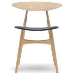 Carl Hansen & Son CH33 stoel met zitkussen
