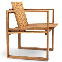 Carl Hansen & Son BK10 indooor-outdoor stoel