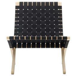 Carl Hansen & Son Tweedekansje - MG501 Cuba fauteuil gezeept eiken zwart