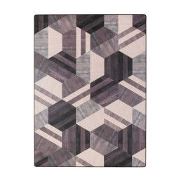 Tarkett Hexagon vloerkleed vinyl 166x226
