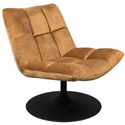 Dutchbone Bar velvet fauteuill