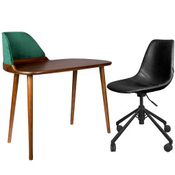 Flinders Thuiswerkplek 3 / Finn bureau + Franky bureaustoel