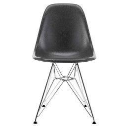 Vitra Eames DSR Fiberglass stoel chroom onderstel