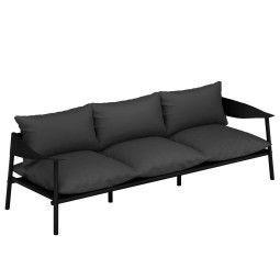 Emu Terramare 3-zits loungebank black