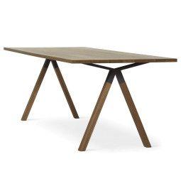 EYYE Axxe tafel 200x90 met rechte hoeken, Exclusive eikenhout