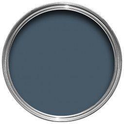 Farrow & Ball Hout- en metaalverf binnen Stiffkey Blue (281)