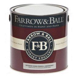 Farrow & Ball Primer en Undercoat hout buiten, witte en lichte tinten