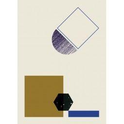 Ferm Living Geometry 3 poster