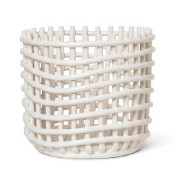 Ferm Living Ceramic basket opbergmand large