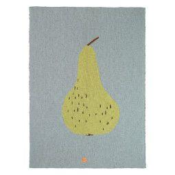 Ferm Living Fruiticana Pear plaid 100x80