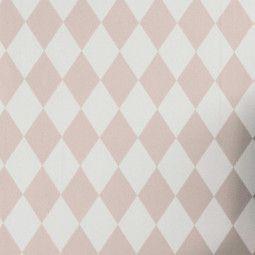 Ferm Living Harlequin behang roze