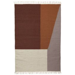 Ferm Living Kelim Borders vloerkleed extra large 250x160