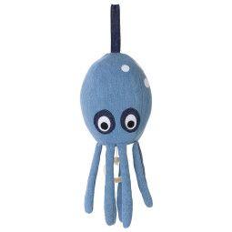 Ferm Living Octopus muziekmobiel - Denim