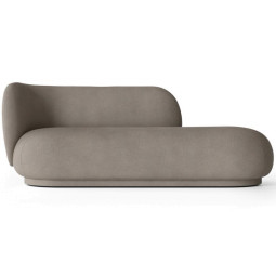 Ferm Living Rico Divan bank Brushed