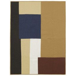 Ferm Living Shay Patchwork Quilt plaid