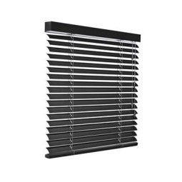 Flinders Aluminium jaloezie mat zwart