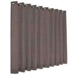 Flinders Dayblush gordijn - lichtdoorlatend - taupe grey