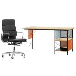 Flinders EA 219 bureaustoel & EDU bureau Thuiswerkplek