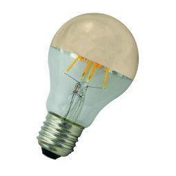 Flinders LED A60 E27 4W 2700K kopspiegel lichtbron Gold niet dimbaar