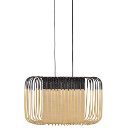 Forestier Bamboo Oval S hanglamp