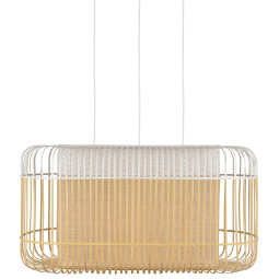 Forestier Bamboo Oval XL hanglamp