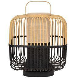 Forestier Bamboo square tafellamp medium