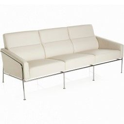 Fritz Hansen Series 3300 bank 3-zits