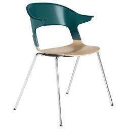 Fritz Hansen BH30 Pair Armchair stapelbare stoel
