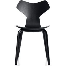 Fritz Hansen Grand Prix Chair Wood stoel gekleurd essen