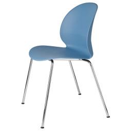 Fritz Hansen NO2 Recycle, NO2-10 stoel verchroomd staal