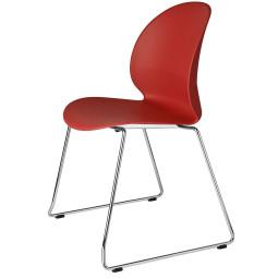 Fritz Hansen NO2 Recycle, NO2-20 stoel verchroomd staal
