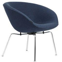 Fritz Hansen Pot fauteuil chrome