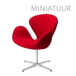 Fritz Hansen Swan Chair miniatuur