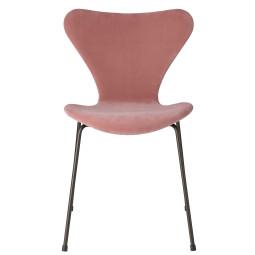 Fritz Hansen Vlinderstoel Series 7 stoel velvet